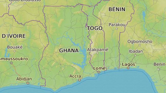 Lomé, hlavní město sedmimilionového subsaharského státu Togo