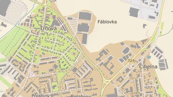 Rozšíření obchodního centra zabralo dosud volné pole mezi zónou a učilištěm.