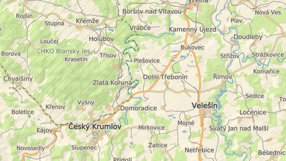 Incident se odehrál u obce Krasejovka na silnici I/3.
