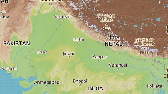Město Pančkula se nachází na severu Indie