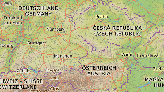 Schaffhausen se nachází na severu Švýcarska.