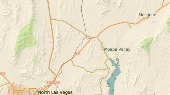 Mesquite, kde žil útočník poslední roky