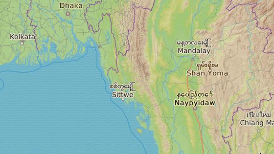 Arakanský stát na severozápadě Barmy sousedí s Bangladéšem