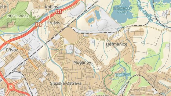 Problémy se údajně týkají části Hrušov v obvodu Slezská Ostrava.