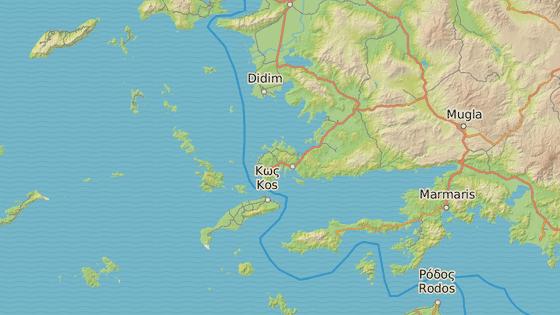 Kéfalos, Kos, Řecko