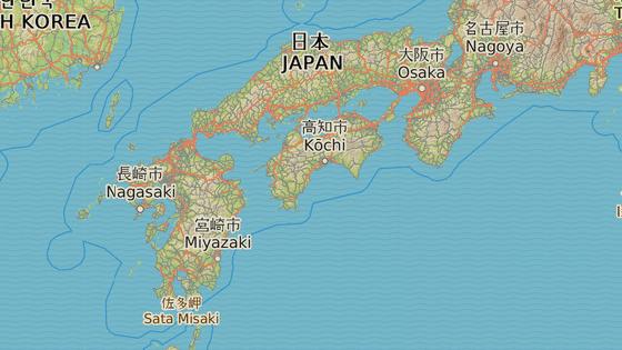 Poslední etapa cykloputování po Japonsku