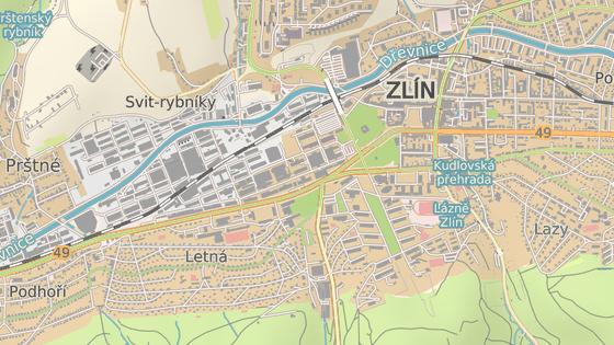 Frekventovanou křižovatku ulic Mostní a Březnická ve Zlíně čeká přestavba.