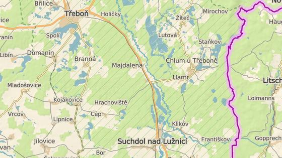 Mladý řidič nepřežil náraz do stromu nedaleko obce Majdalena na Jindřichohradecku.