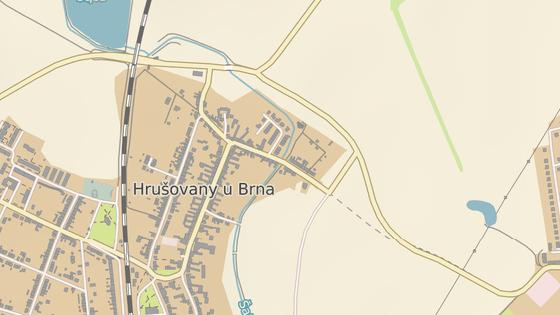 Kůň spadl z mostku z ulice Sušilova v Hrušovanech u Brna.