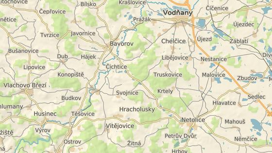 Nehoda se stala v katastru Bavorova.