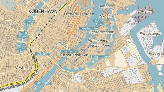 Svobodné město Christiania se nachází v centru dánské metropole Kodaně.