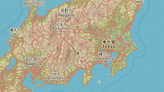 Z Tokia přes Jokohamu...Japonskem na kole