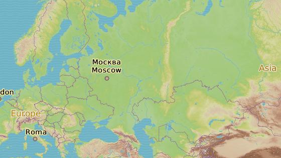 Iževsk se nachází na východě evropské části Ruska.