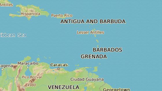 Souostroví Malé Antily, kam hurikán nejspíše zamíří jako první.