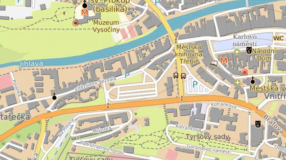 V místech, kde na rušné Sucheniově ulici v Třebíči býval přechod pro chodce, za 15 milionů zbudovali podchod.