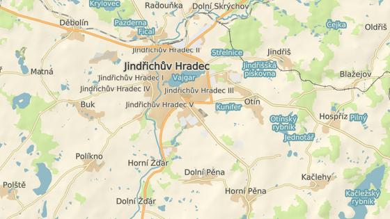 Nehoda se stala na silnici z Jindřichova Hradce na České Budějovice.