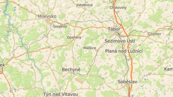 Tragická nehoda se stala u Líšnice poblíž Milevska.