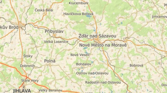Pramen Oslavy se nachází nedaleko Matějovského rybníku a obce Česká Mez na Žďársku.