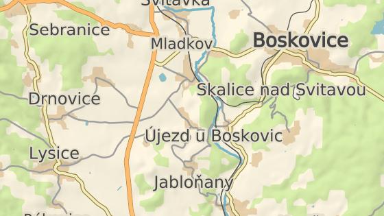 Žena havarovala v Drnovicích na Blanensku.