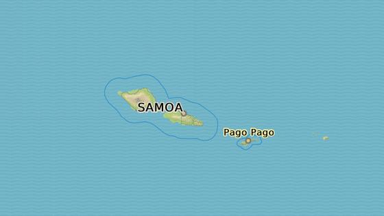 Samoa je ráj uprostřed Pacifiku.