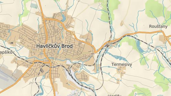 Stříbrný dvůr na samém východním okraji Havlíčkova Brodu.