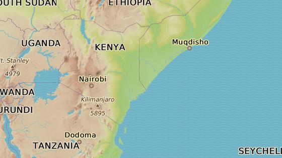 Chakama, Keňa