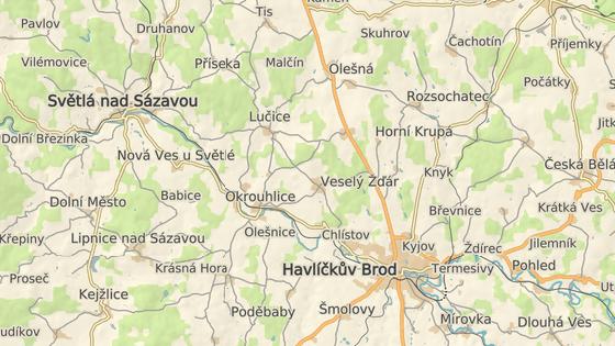 Rekonstrukce se bude týkat osmikilometrového úseku železnice mezi Havlíčkovým Brodem a Okrouhlicí. Leží na hlavní trati z Prahy přes Kolín a Brod na Brno.