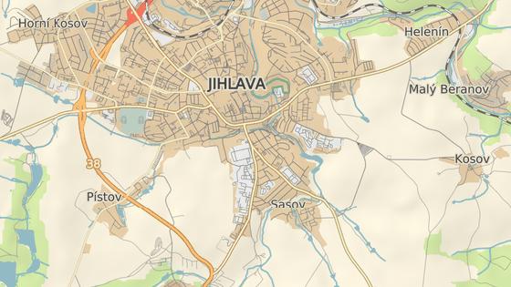 Areál společnosti Jihlavan se nachází na Znojemské ulici v jižní části Jihlavy.