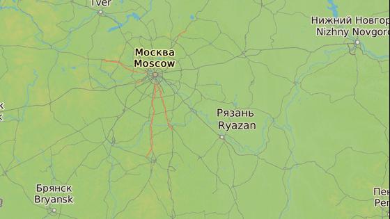 Nehoda se odehrála ve městě Rjazaň