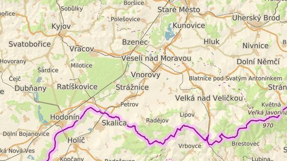 Policejní pes vypátral v lese u slovenské hranice vysíleného seniora.