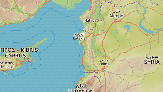 Základna Hmímím, Sýrie