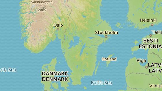 Město Vetlanda ve Švédsku