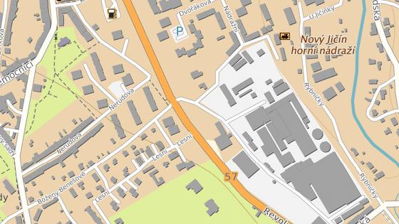 Zchátralý parčík leží v sousedství Tonaku a zdravotnických laboratoří.