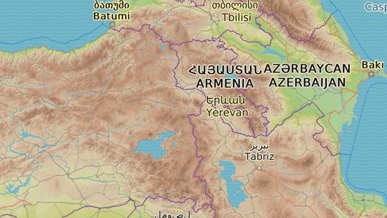 Část severní hranice s Íránem, kde Turecko staví barieru