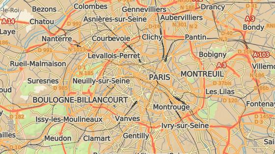 Ulice Chanez, Paříž