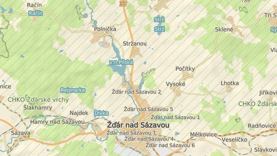 Nehoda se stala na cyklostezce mezi Pilskou nádrží a žďárskou místní částí Stržanov.