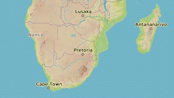 Kapské město leží v samém srpku jižní Afriky.