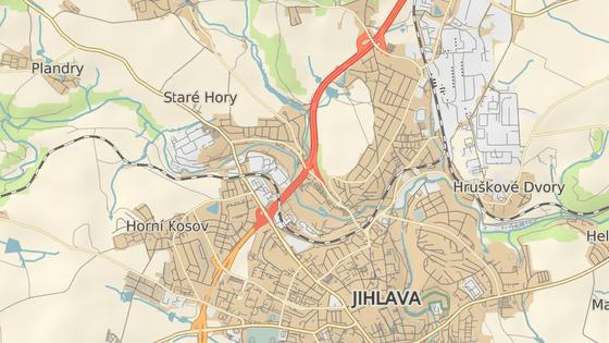 Na ulici Romana Havelky v Jihlavě se dá sjet pouze ve směru od Havlíčkova Brodu. Do budoucna by to mělo být díky novému sjezdu možné i od Znojma.