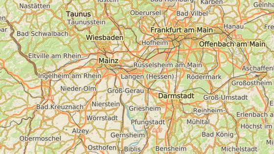 Město Wiesbaden.