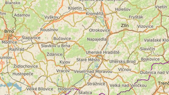 Ve Zlínském kraji se má nově mýto vybírat na silnici I/50 od Střílek na hranicích s Jihomoravským krajem až po Starý Hrozenkov na hranicích se Slovenskem.