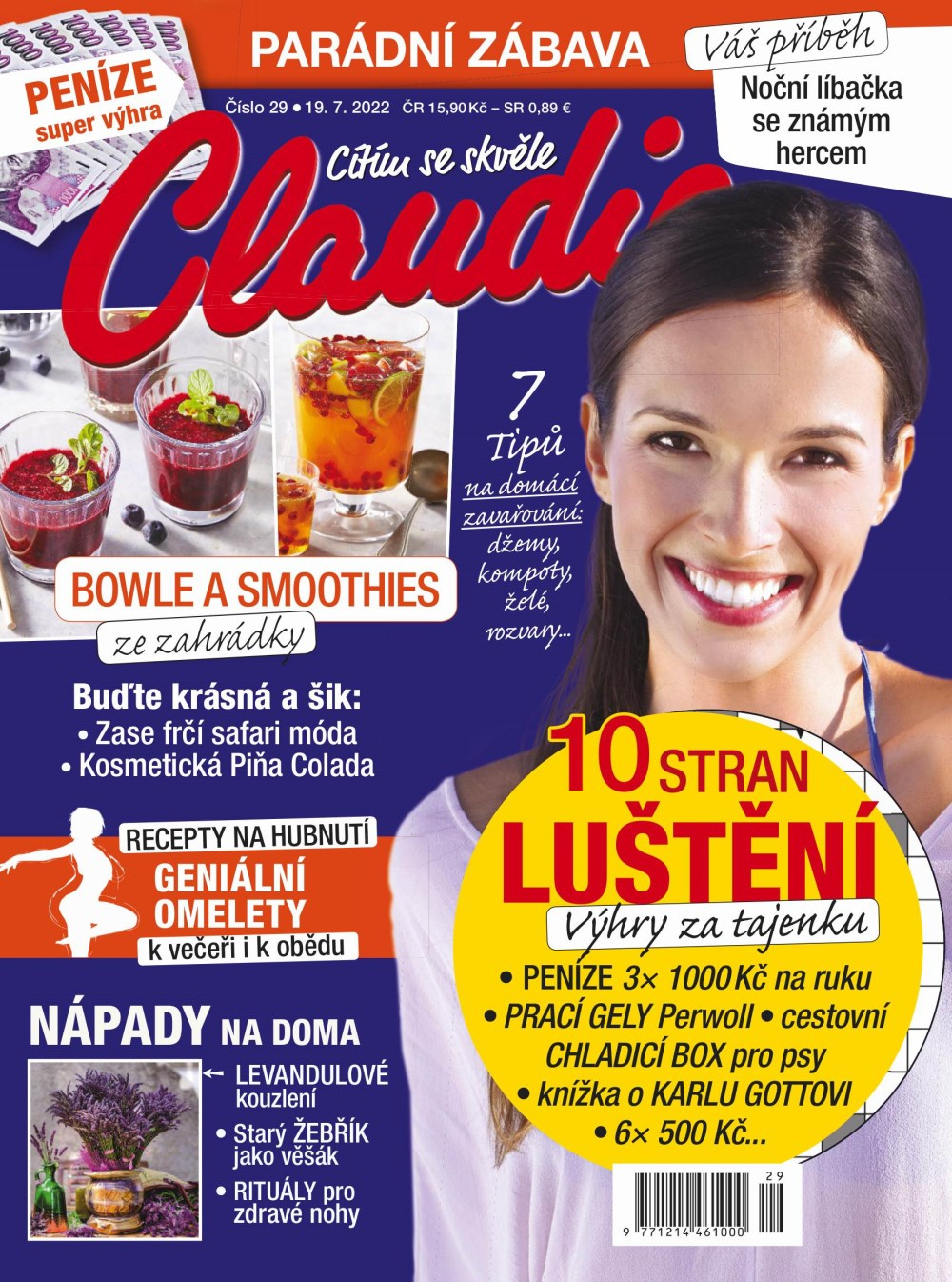 Claudia<br/>roční předplatné