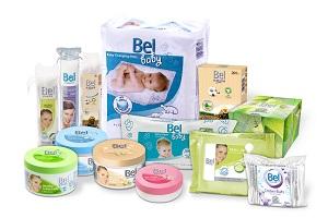 balíček vatových produktů Bel