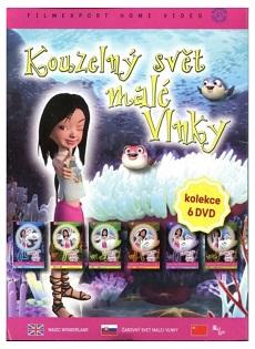 DVD pohádky Kouzelný svět malé Vlnky