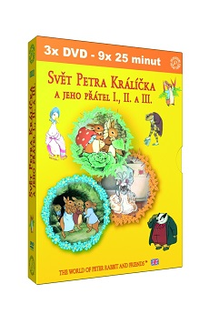 DVD balíček Svět Petra Králíčka