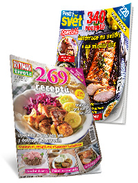 Balíček 2 kuchařských knih: Pestrý svět a Rytmus života