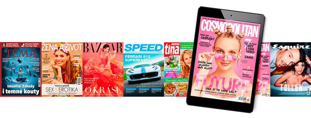 Digitální čtečka časopisů