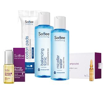 balíček kosmetiky Saffee