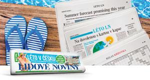 Užijte si léto s Lidovými novinami