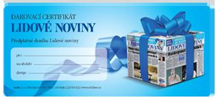 Darovací certifikát Lidových novin
