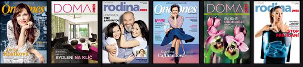 Časopisy k jednotlivým dnům MF DNES